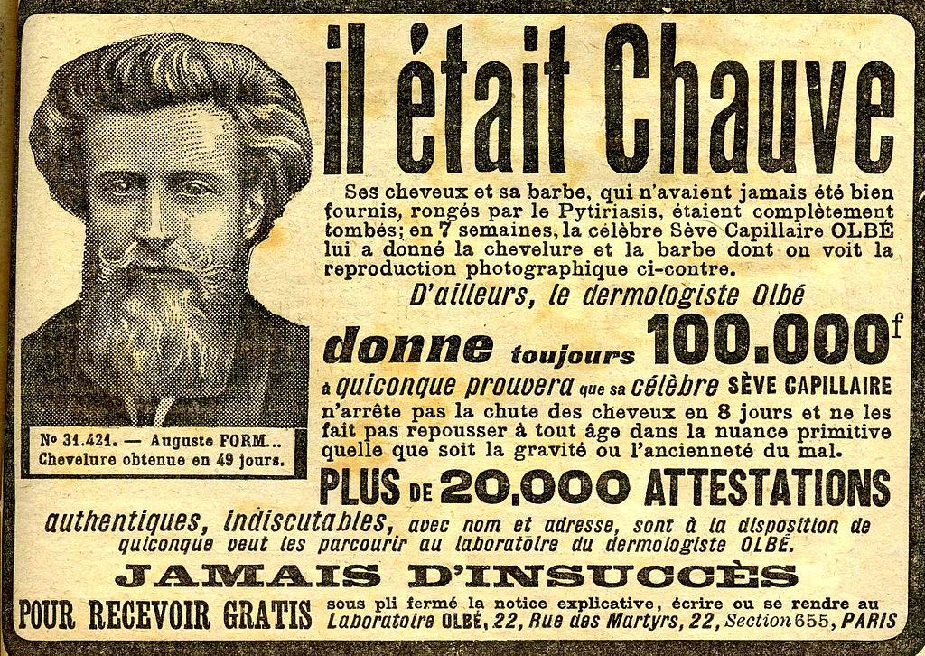 """""""Le comble de la ressemblance : Pouvoir se faire la barbe devant son portrait."""" Alphonse Allais/Le Tintamarre – 18 Mai 1879"""